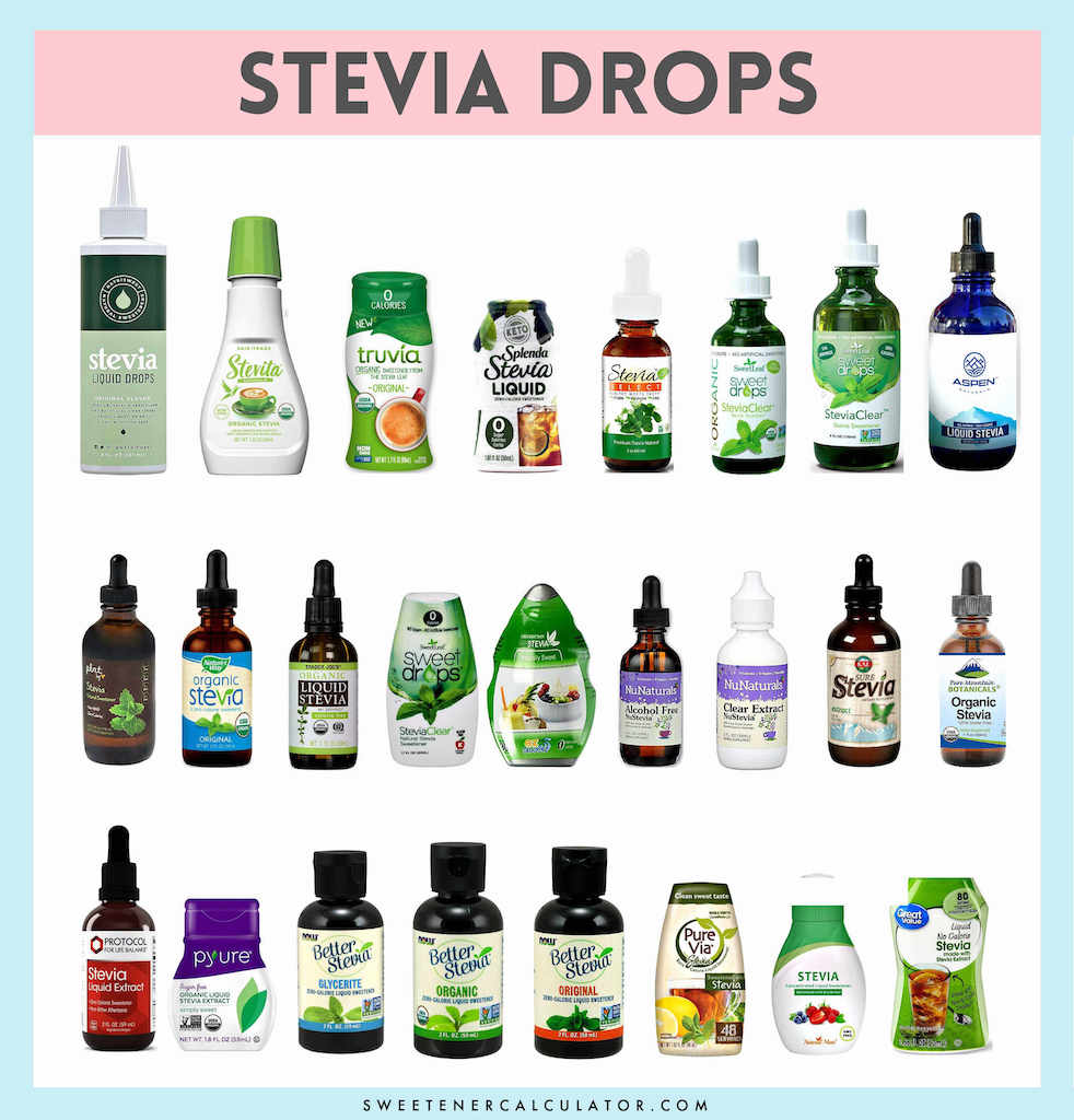 How much liquid stevia do I substitute for sugar?