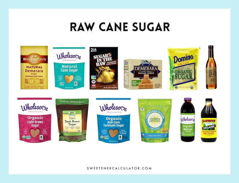 raw sugar made from sugarcane