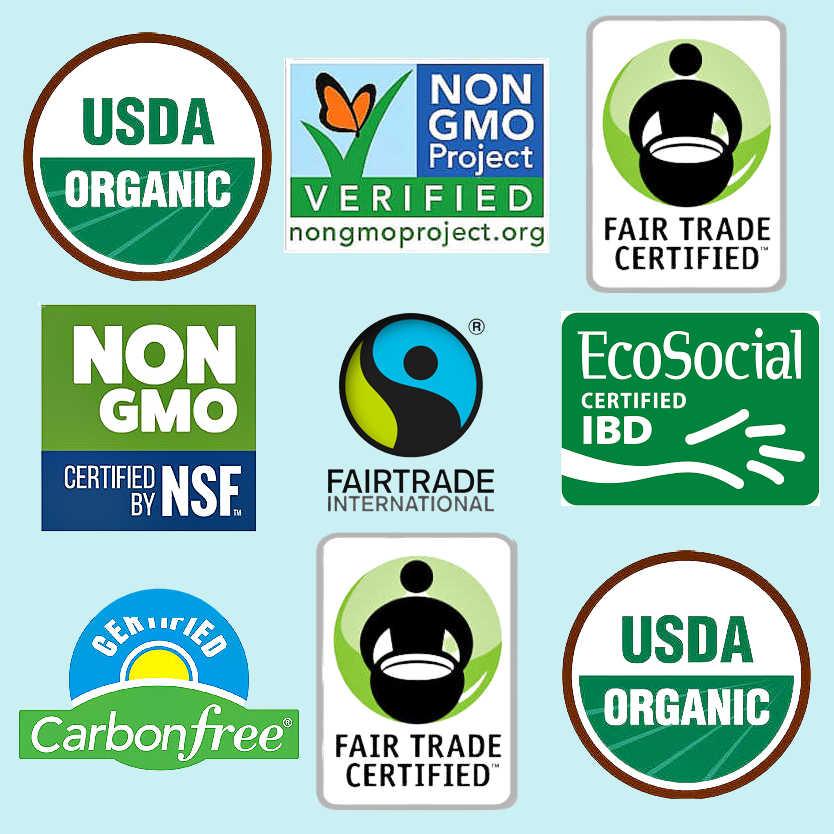 Organic, Fair trade, non-GMO sugar alternatives